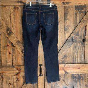 CAbi Jeans - Cabi dark wash straight high rise jeans size 10!